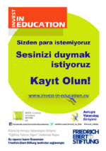 """Kıbrıs'da avrupa vatandaşlık girişimi """"Eğitime yatırım yapin"""" hakkında rapor"""