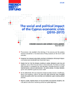 The social and political impact of the Cyprus economic crisis