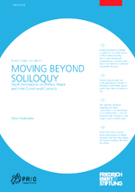 Moving beyond soliloquy