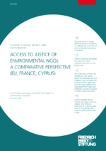 Access to justice of environmental NGOs