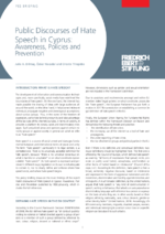 Public discourses of hate speech in Cyprus
