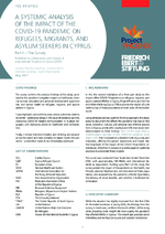 A systemic analysis of the impact of the COVID-19 pandemic on refugees, migrants, and asylum seekers in Cyprus